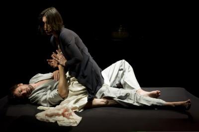 une photo de Pascal Chantier avec Valérie Gabriel et Fabrice Moussy